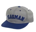 ak-105 Бейсболка Flagman Casual Grey Blue