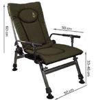 st-39 Кресло карповое Elektrostatyk с подлокотниками